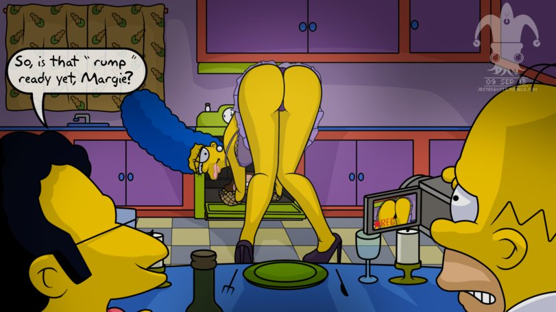 Marge simpson sucks dick — 8