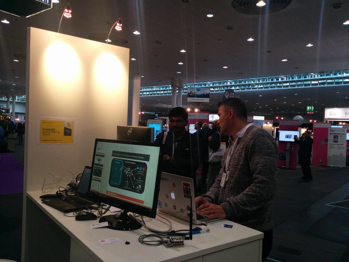at #CeBIT17? still to days to visit @waylay_io in hall 11 stand A36 #IoT #integration #automation #orchestration <br>http://pic.twitter.com/p0TBCYkcid