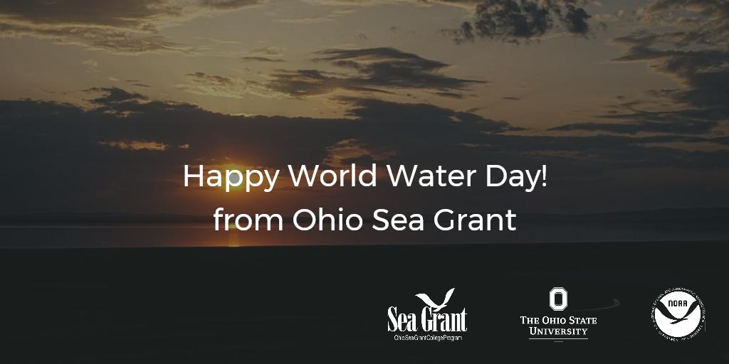 Happy #WorldWaterDay from Ohio Sea Grant https://t.co/VNCKCvzALx