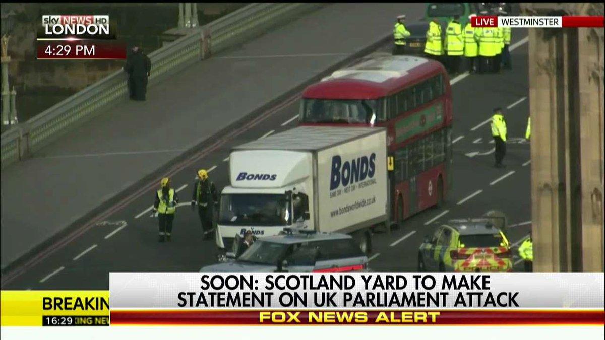 Soon: Scotland Yard to make statement on U.K. Parliament attack. https...