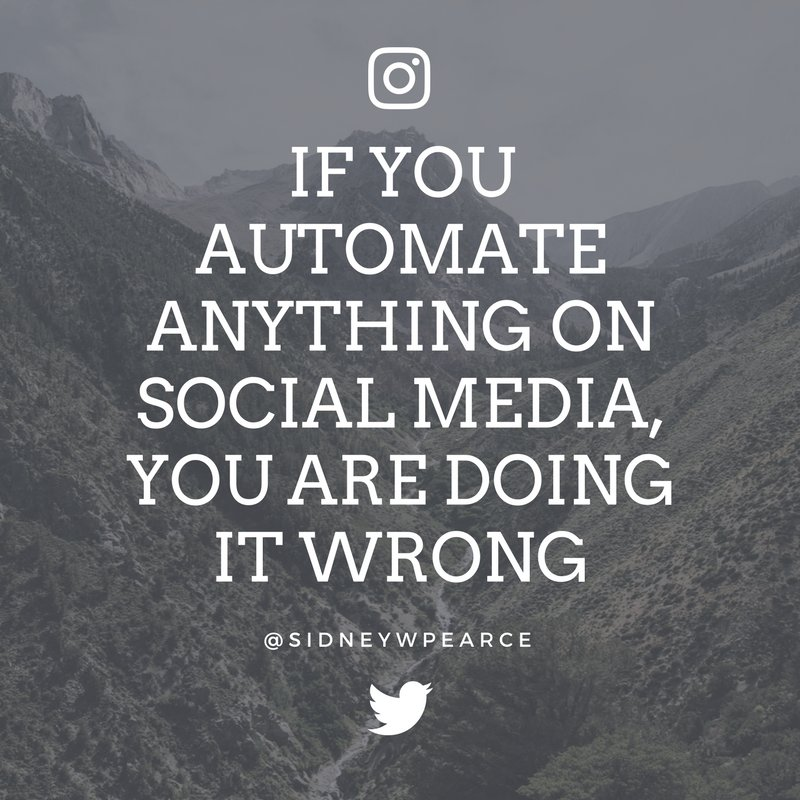 @buffer A5: DO NOT AUTOMATE! You can schedule posts! but that&#39;s it! #bufferchat <br>http://pic.twitter.com/lzmZYZMExR