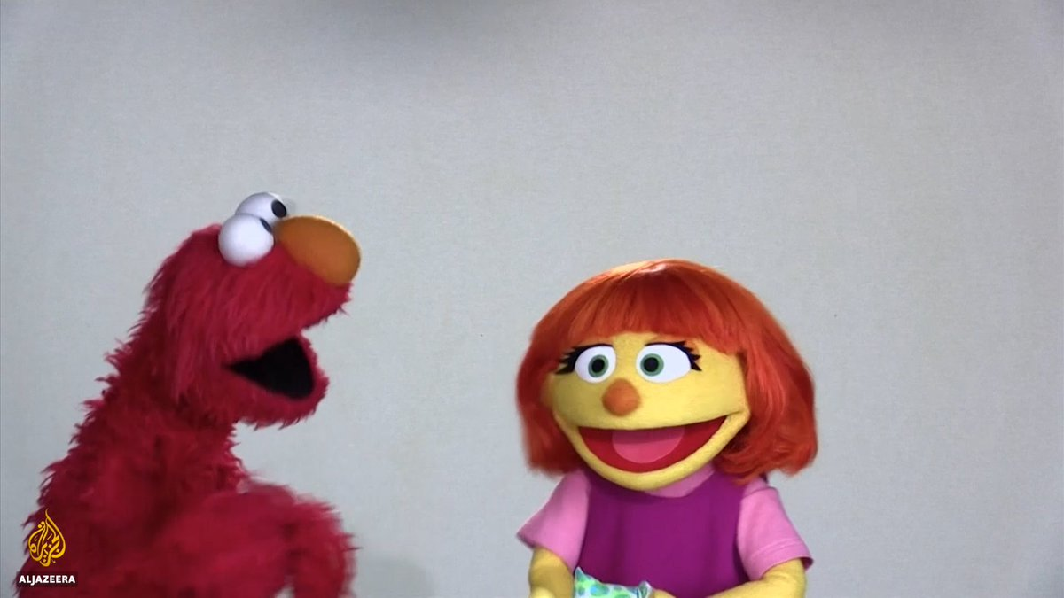 Sesame Street introduces Julia, their first-ever character with autism