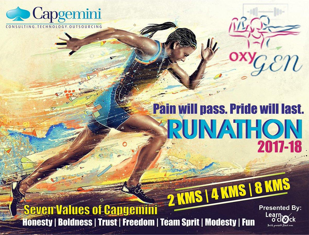 Capgemini Noida Runathon 2017-18! Event organized by: Learn o&#39;clock Pvt. Ltd.  #marathon #fitness #running #2km #4km #8km #Noida #capgemini<br>http://pic.twitter.com/BLyfy5W6hF