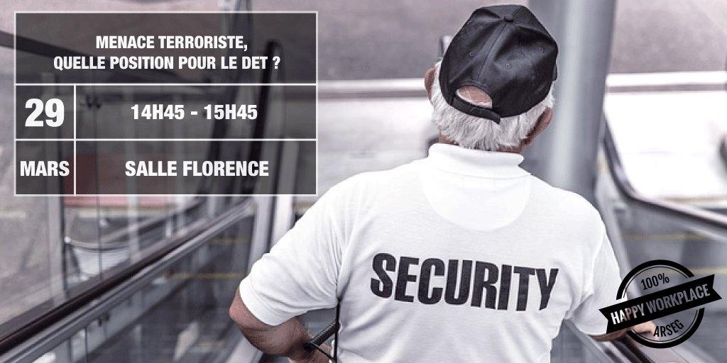 #ConfArseg &quot;#Menace #terroriste, quelle position pour le DET?&quot;  avec @S_PIETRASANTA  et @thierry_Cadiot #SAET2017  http:// bit.ly/2neqmSm  &nbsp;  <br>http://pic.twitter.com/Y2B7d5HM21