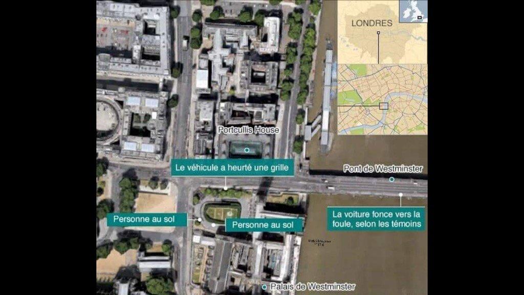 Attaques #terroriste en plein centre de #Londres un bilan fait Etat de 2 morts et 12 blessés graves #PrayForLondon<br>http://pic.twitter.com/1LbLQoUVaT