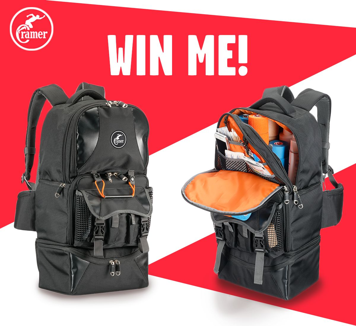 Cramer Tuf-Tek Backpack for Athletic Trainers