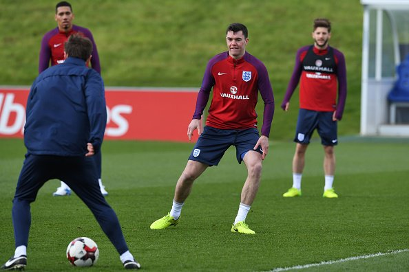 Michael Keane is expected to make his debut for England against German...