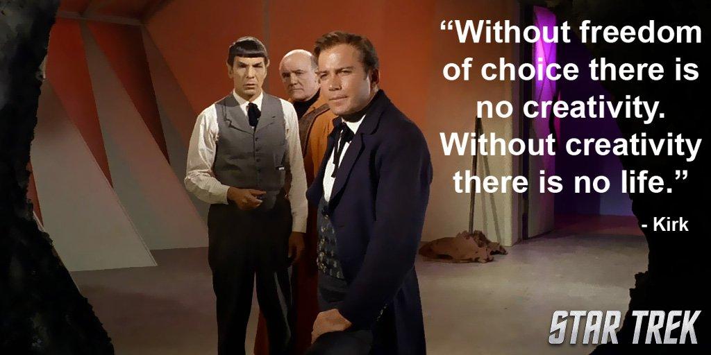 #WednesdayWisdom! #StarTrek #TOS #Kirk #HBDShatner https://t.co/zssu7X...