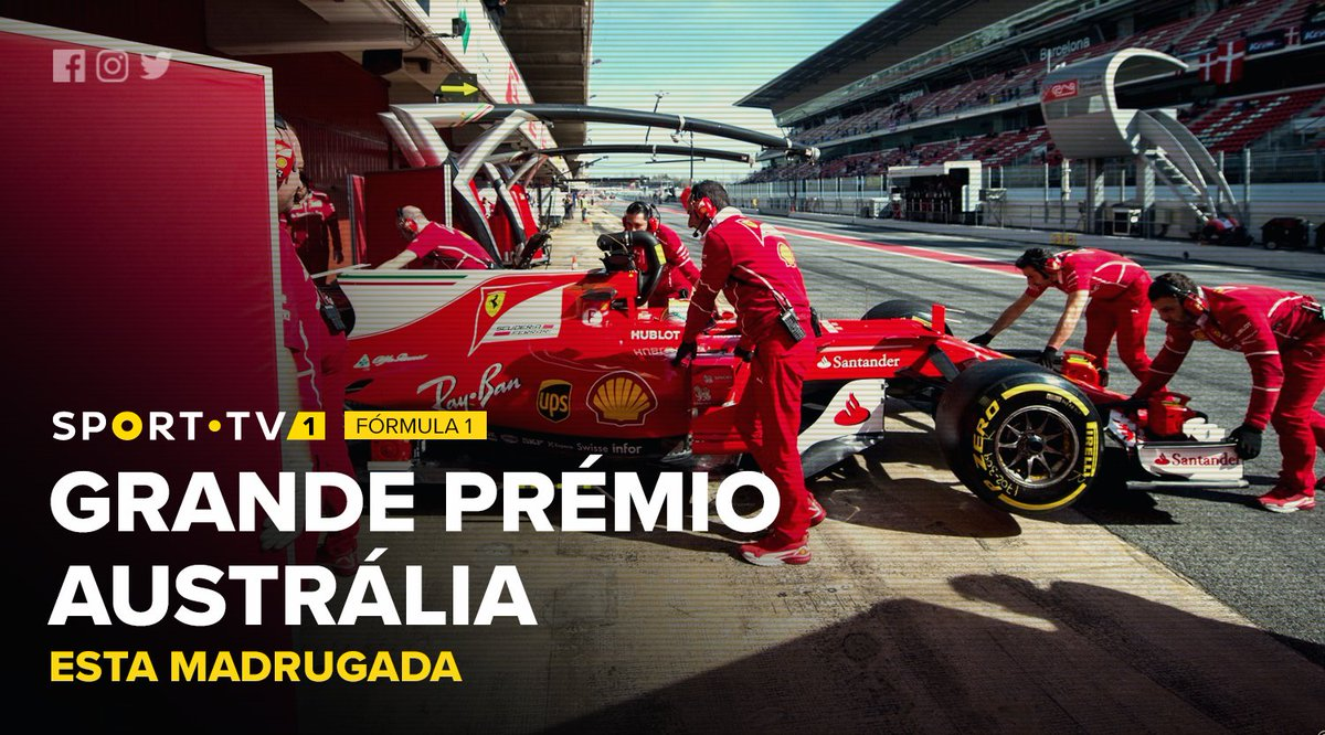 #Formula1 | A corrida que marca o arranque da temporada 2017! A partir...