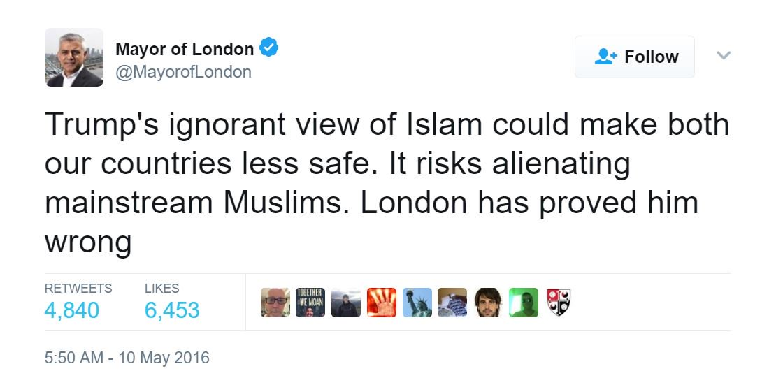 This tweet hasn't aged well. #London https://t.co/S159bjUxZW