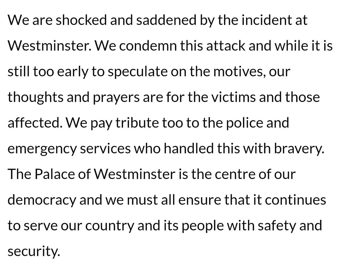 Muslim Council of Britain statement on attack in Westminster https://t.co/4isOfWxnQa https://t.co/ucFkySiTwI