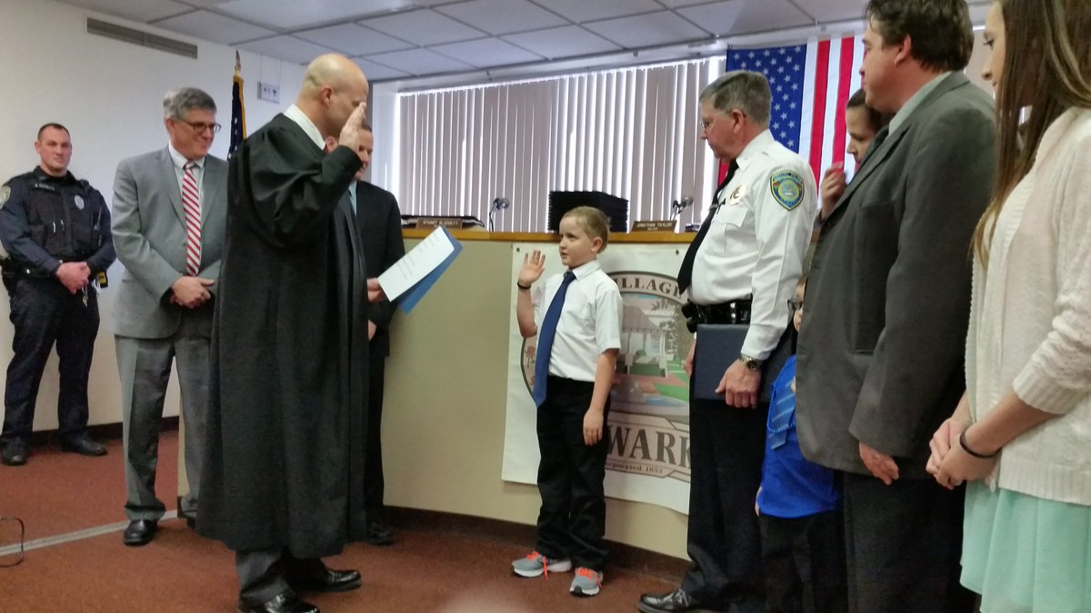 DREAM COME TRUE: Newark ceremony marks occasion for 10-year-old