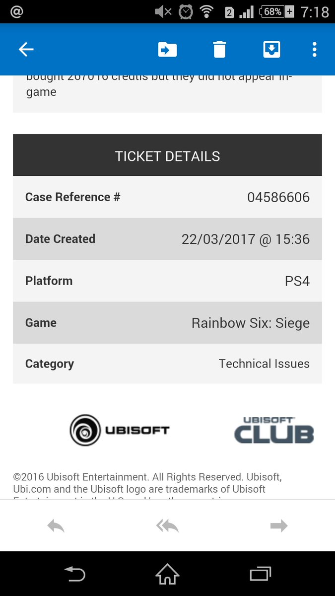 Ubisoft Support On Twitter That Appears To Be Your Order Number Did You Submit A Ticket At Our Site And Receive A Confirmation Email