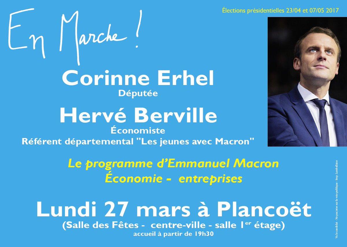 Reunion public le 27 Mars, nous échangerons sur le programme d&#39; @EmmanuelMacron  #Economie et #Entreprise<br>http://pic.twitter.com/PviqAyXbNI