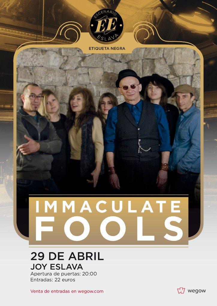Immaculate Fools presentarán disco en el @EscenarioEslava #Etiquetanegra el 29/Abr. Entradas  http:// bit.ly/2lG3Yx7  &nbsp;   #MadridAndMusic<br>http://pic.twitter.com/rvEAJTysLq