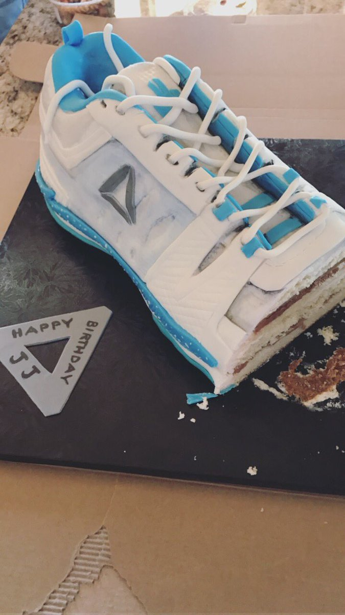 JJ Watt On Twitter I Never Thought Id Have My Own Shoe Definitely Get A Birthday Cake Version Of Crazy