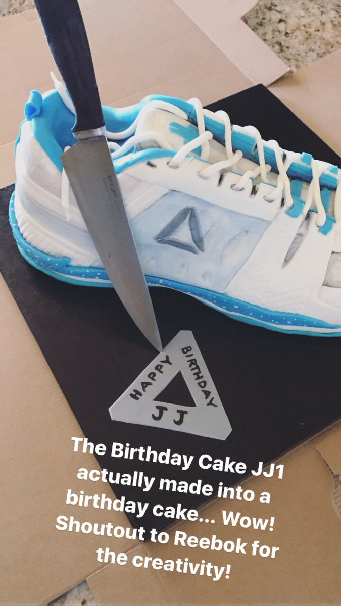 I Never Thought Id Have My Own Shoe Definitely Get A Birthday Cake Version Of Crazy Thank You Reebokpictwitter