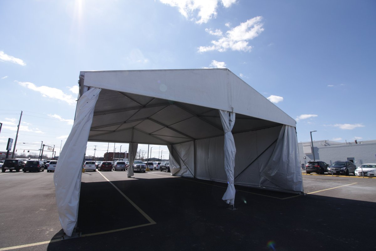 Ou0027NEIL TENTS on Twitter  Our 33x49 clear span providing a temporary service bay at Bob Caldwell Chrysler Dodge u0026 Jeep //t.co/QS8KI6sDHd  & Ou0027NEIL TENTS on Twitter: