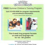Give your student an academic edge while having fun! Now enrolling for our Children's Summer Program  https://t.co/LUIONzhQrP