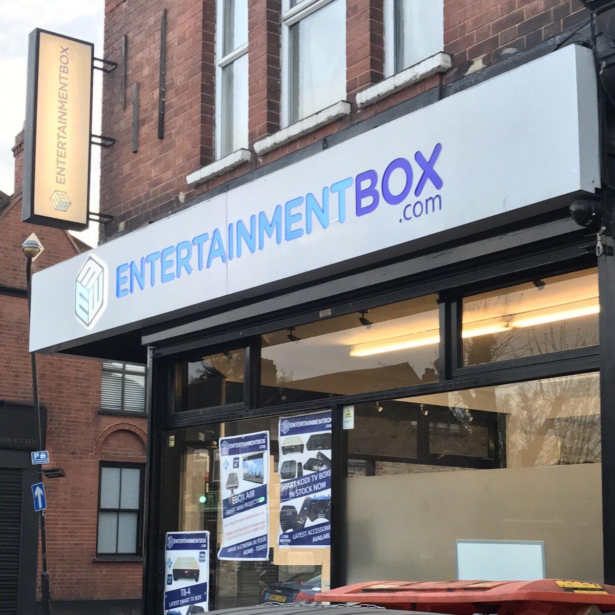 entertainmentbox hashtag on Twitter