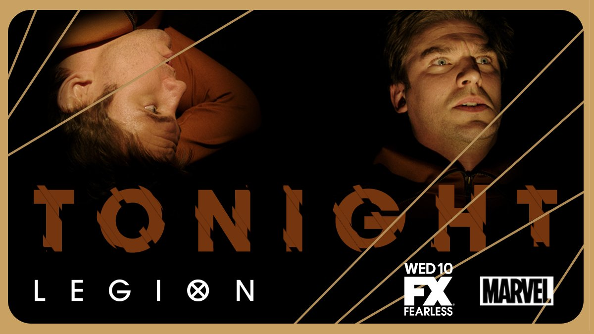 Take a good look at yourself. #LegionFX is all new tonight. https://t....