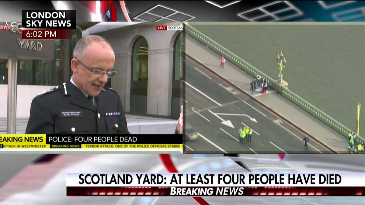 Scotland Yard: At least four people have died. https://t.co/EMtm9W8ZUS...