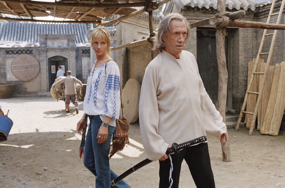#TipsForDatingMyEx - Watch your back.  #KillBill https://t.co/RTwzzEE4...