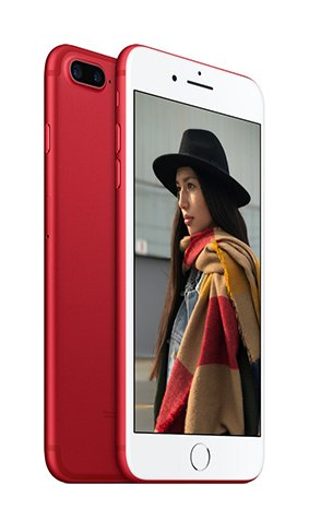Social Media Post: #0676Blog: Mit dem iPhone 7 (PRODUCT)RED den Kampf gegen HIV...