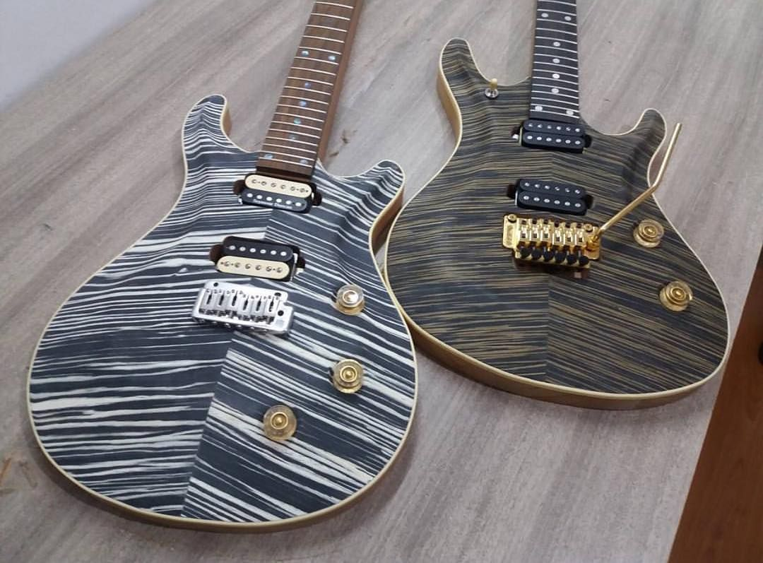 Left or right? Amazing builds from Louisaint Guitars #guitar #guitars #stratocaster #electricguitar #strat #telecaster #luthier #fretclub<br>http://pic.twitter.com/YnGrtMxGCD
