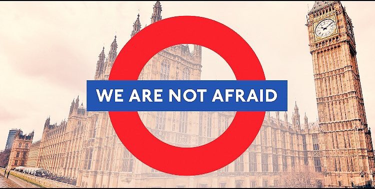 Terrorists have no race or religion. we all want to love, laugh and live without fear...  #PrayForLondon