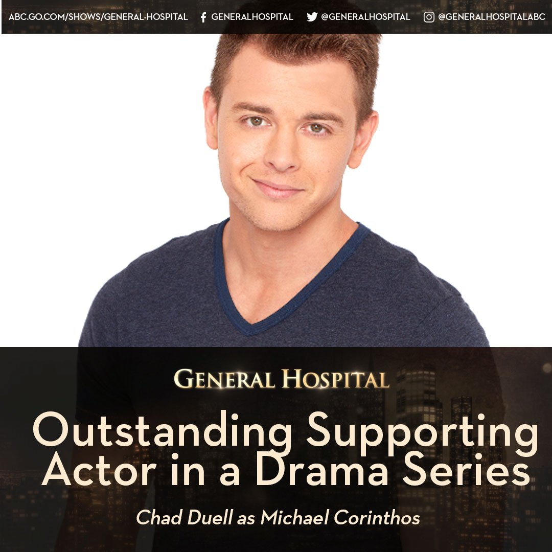 Congratulations on your nomination @duelly87! #OutstandingSupportingAc...