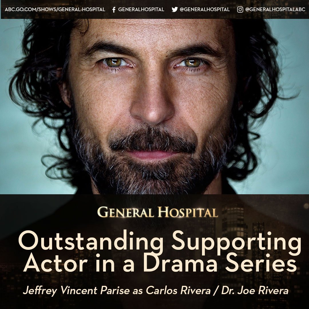 Congratulations @JeffreyVParise! #DaytimeEmmys #Nominee #OutstandingSu...