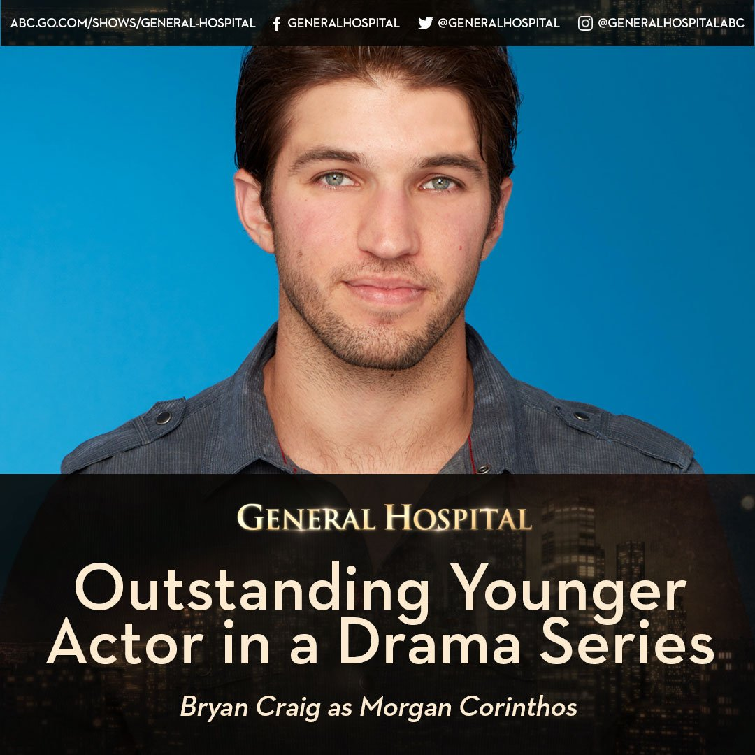 Congratulations @bryan_craig! Much deserved!! #DaytimeEmmys #Outstandi...