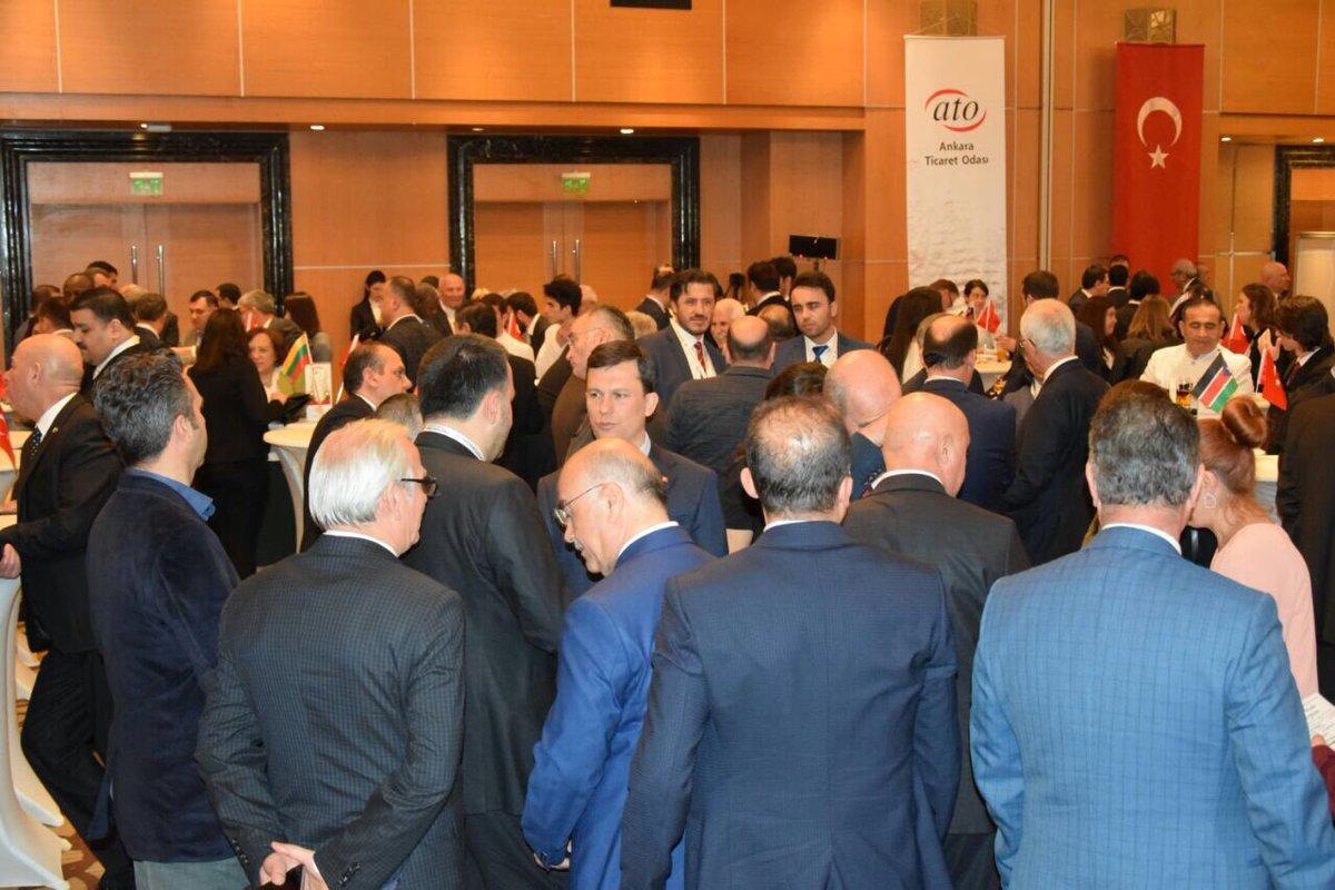 Ankara Ticaret Odası 4. Ticaret Ateşeleri Buluşmasına katıldık... https://t.co/VV4dXuGbN8