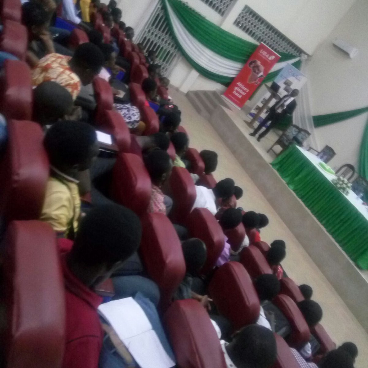Day 2 of the 11th SRC Week Cele Launching and Seminar ongoing @ the mini auditorium After School what NEXT??? #UmatSRCweek17  #bhim <br>http://pic.twitter.com/OOfCkye0du