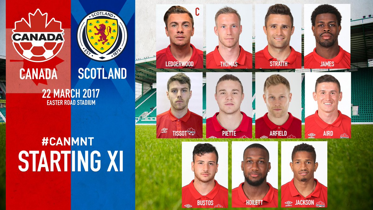 Starting XI #CANMNT  FULL SQUAD: https://t.co/YqFzhIsIkb https://t.co/...