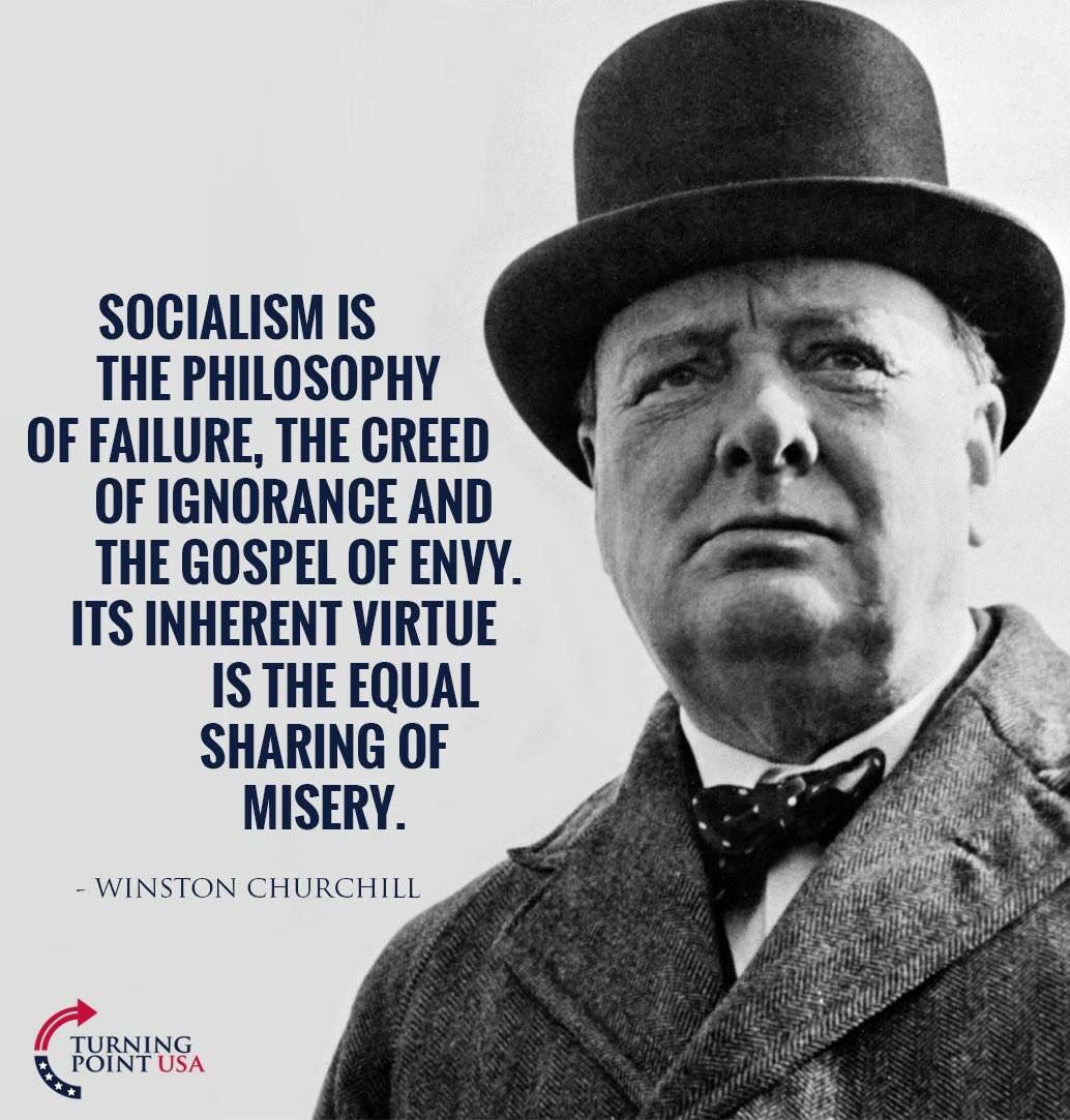 #SocialismSucks