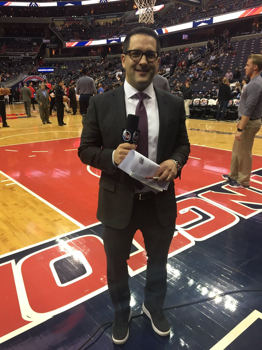 Sources say: @AdamSchefter is in the house. #WizHawks #DCFamily https:...