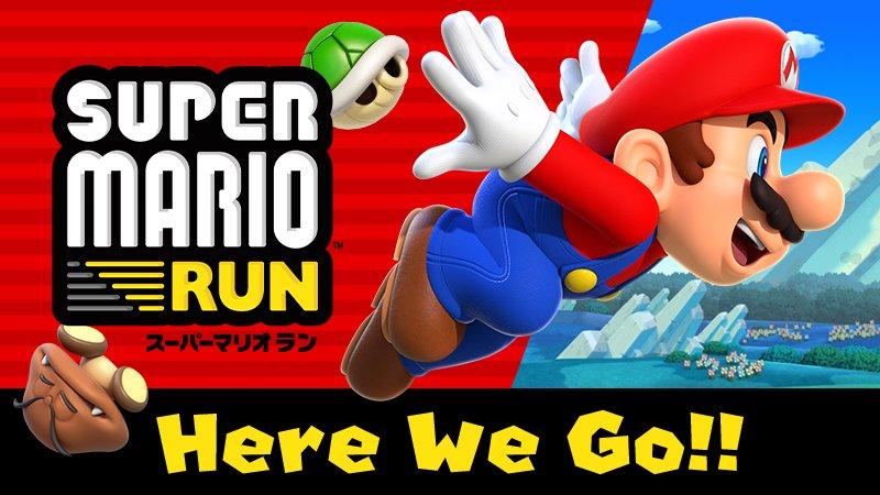 Android版『SUPER MARIO RUN(スーパーマリオ ラン)』の配信を開始しました。 https://t.co/2DW2TnCK...