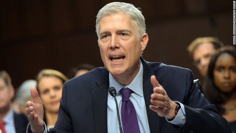 Neil Gorsuch steers around sharp questions from Democrats on the third...