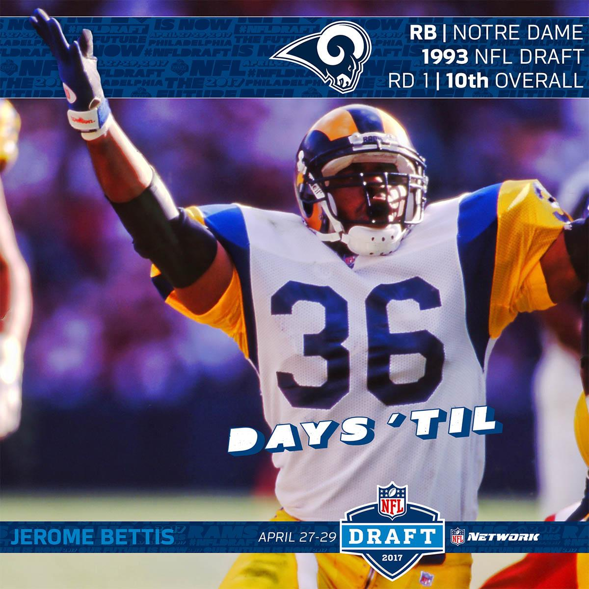 Only 36 Days until the #NFLDraft! https://t.co/XS9f6GD5Yn