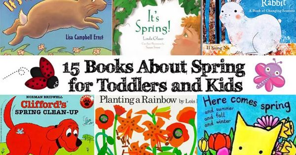 Great List Of Spring Books For Toddlers from @blessedleiz #firstdayofs...