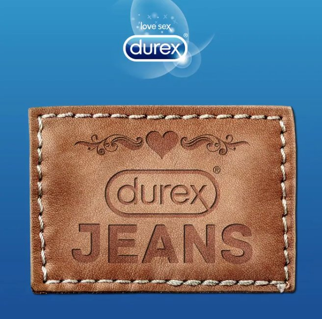 For some reason, Durex condom brand is launching a jean line: https://...