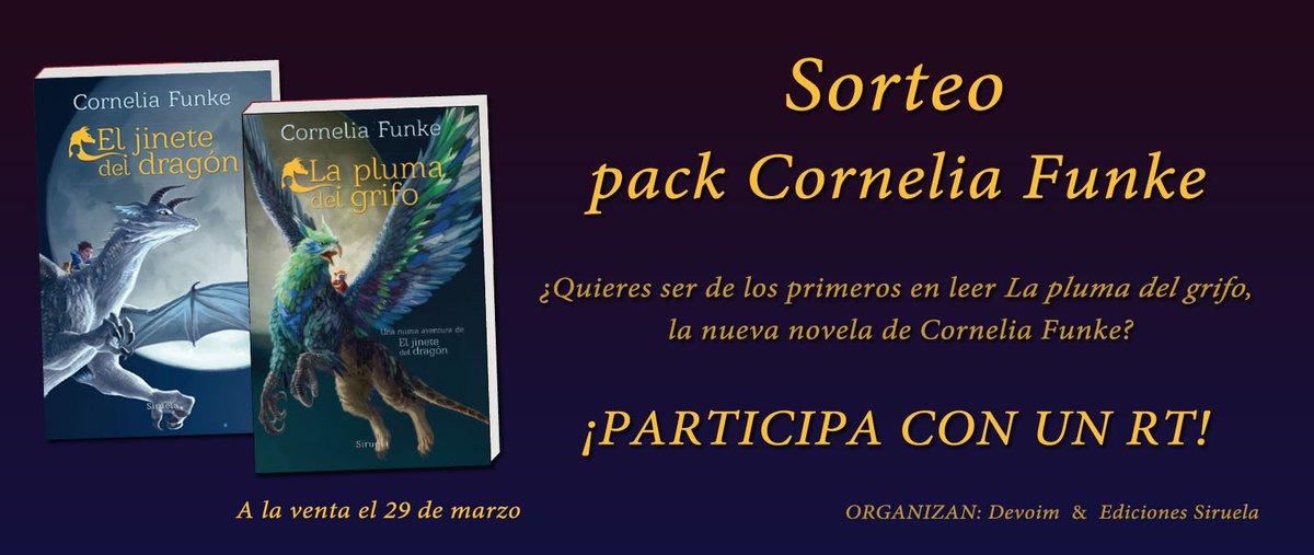Sorteo Pack Cornelia Funke [Twitter del blog Deja volar tu imaginación]