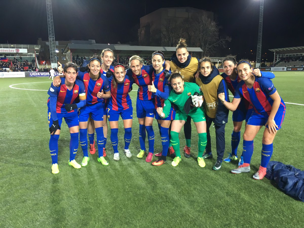 📍 FINAL!  @FCRosengard - @FCBfemeni (0-1)  ⚽️ @LeilaOuahabi (45')  #FC...