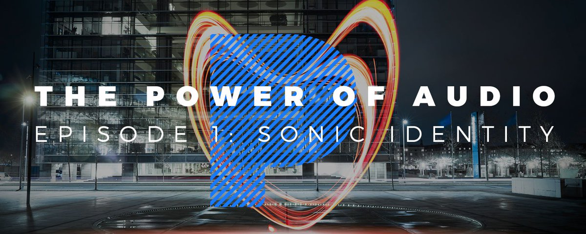 Introducing our #PowerofAudio #podcast where we explore the important role of a Sonic Identity for brands.