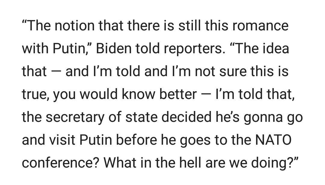A FIERY and incredulous Joe Biden weighs in on #TrumpRussia Secretary...