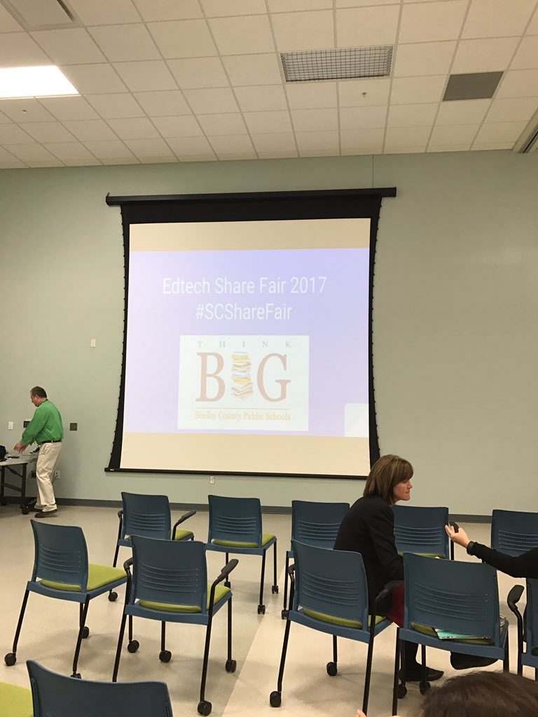 At Shelby County EdTech Share Fair! #SCShareFair https://t.co/84F0uJGYqV