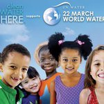 #WorldWaterDay is today - help kids get #CleanWaterHere in US and abroad by lending your social voice here: https://t.co/KcZ41l350u