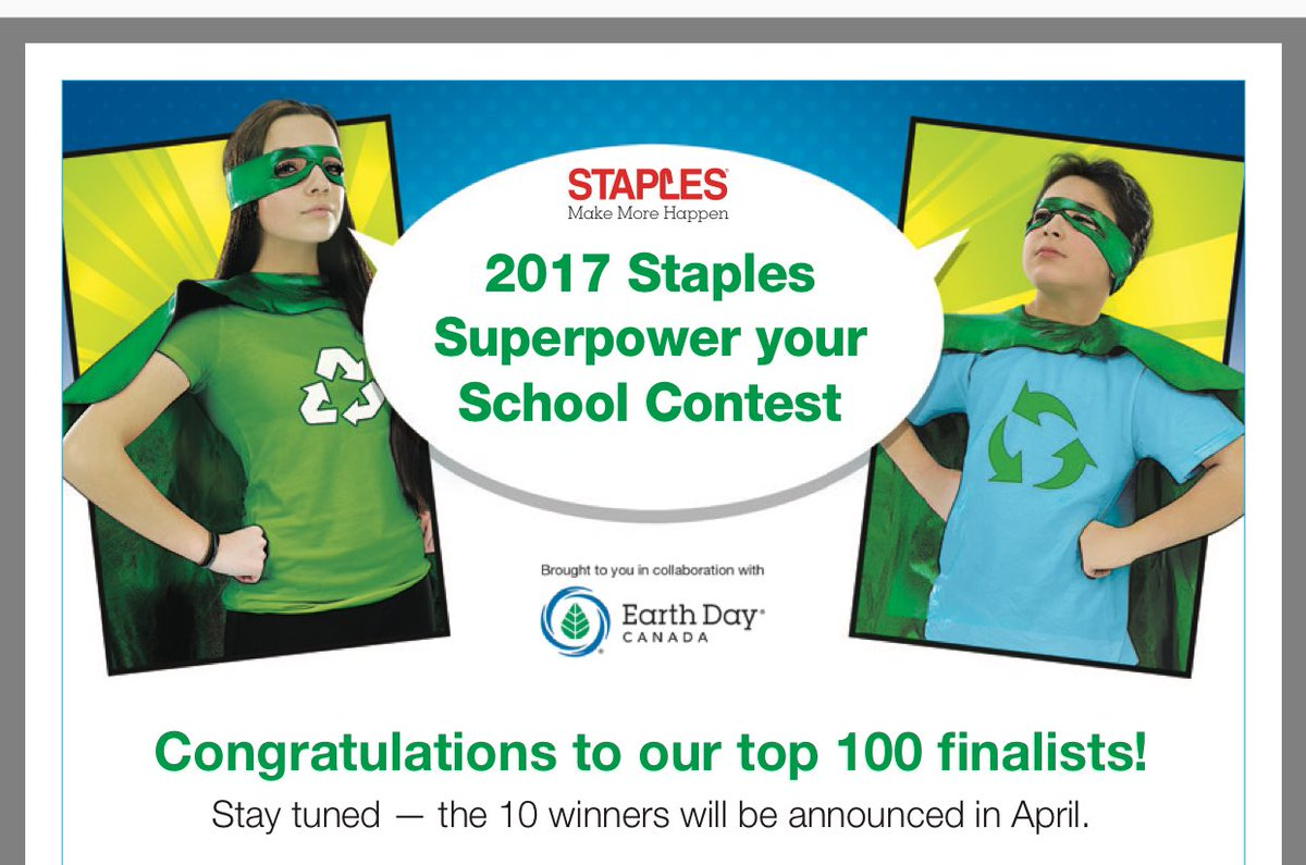 We have been shortlisted in the Staples Super Power Your Schools Contest! Keep Wings crossed Herons! @KLCarlyle #technology &amp; #ForestSchool <br>http://pic.twitter.com/iBXH2U8JyM
